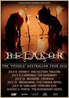 Belakor Tour Poster