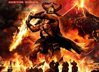 Amon Amarth Surtur Rising Album Cover