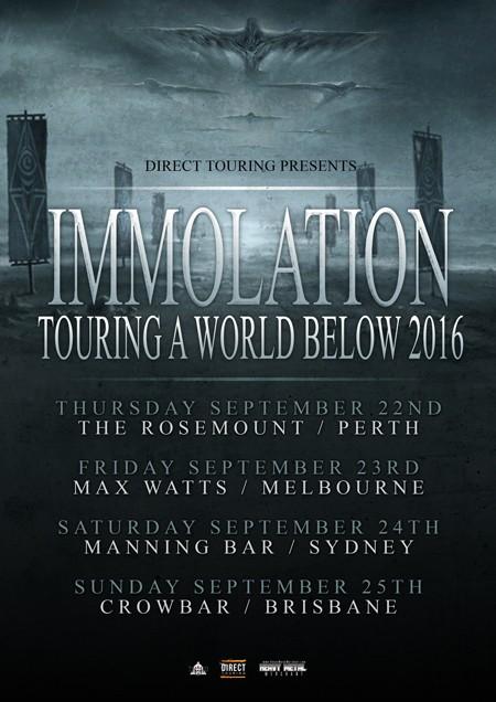 Immolation WebA