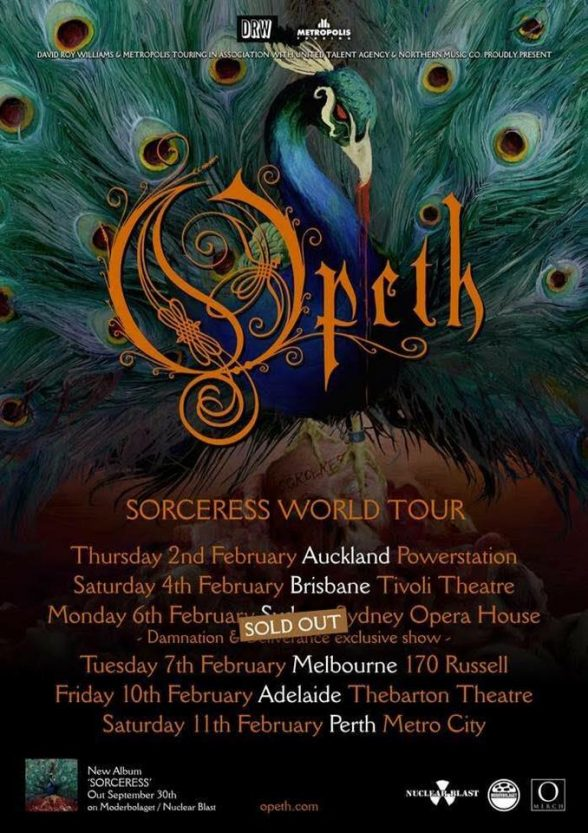 Opeth Tour Poster16