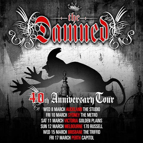 The Damned Tour