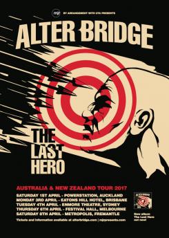 Alterbridge Tour