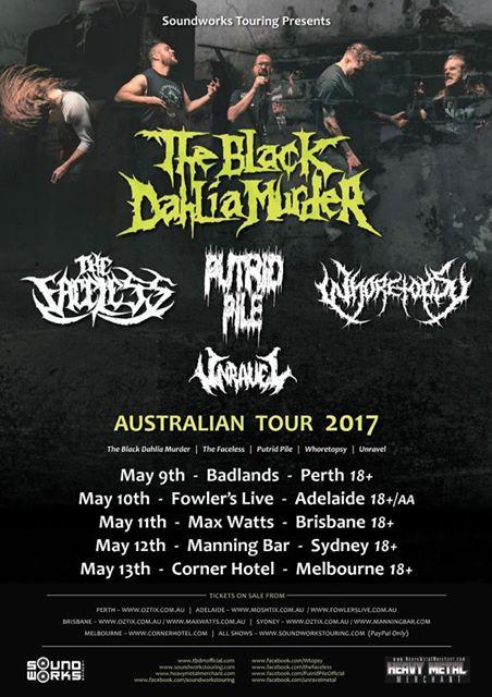 TBDM 2017 Tour