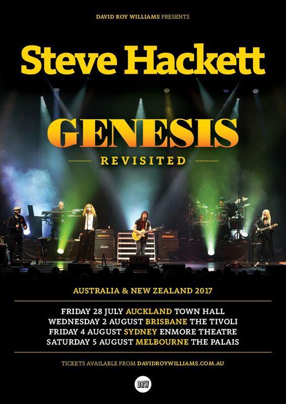 Steve Hackett 2017