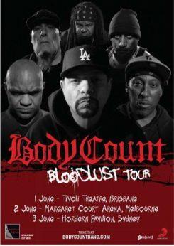 Bloodlust Tour Poster
