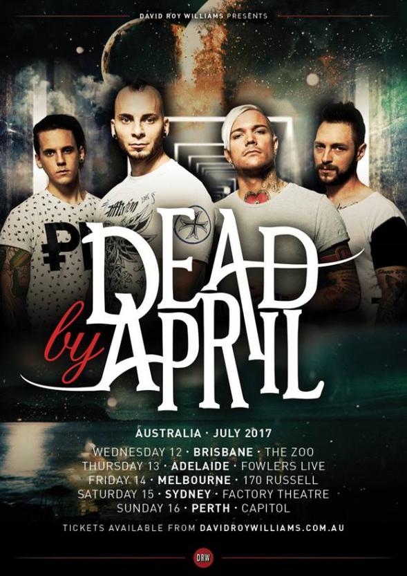 Dead By April Tour