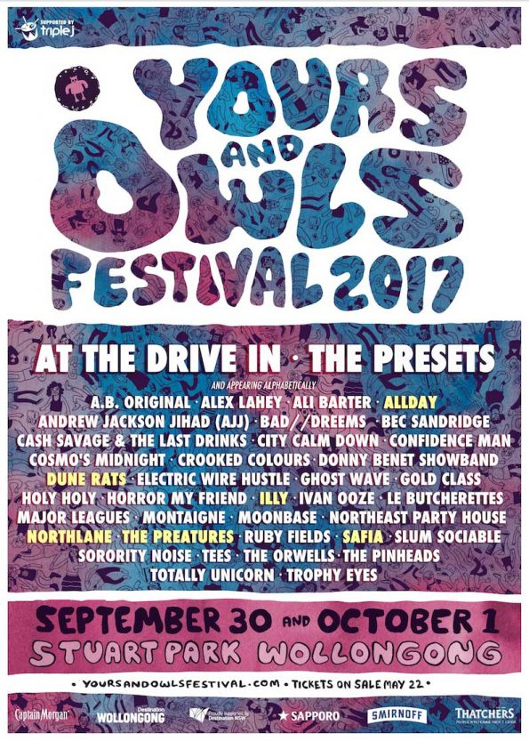Yours&Owls2017