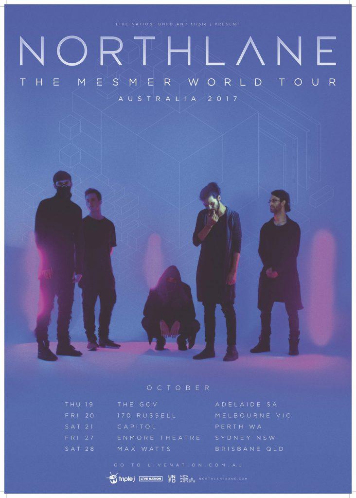 Northlane Oz Tour 2017
