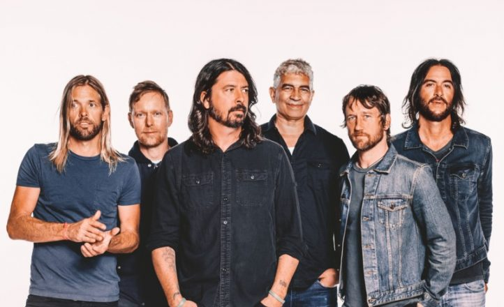 FOO FIGHTERS APPROVED PR PHOTO SEPTEMBER 2017