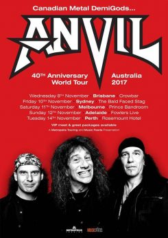 Anvil Tour