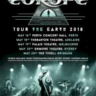 Europe Tour Poster