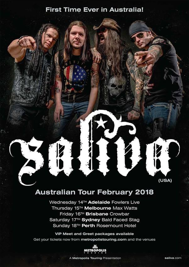 Saliva Tour
