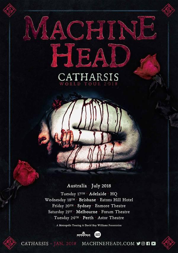 Machine Head Tour 18