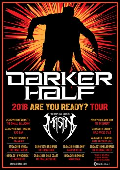 Darker Half Are You Ready A3 All Dates