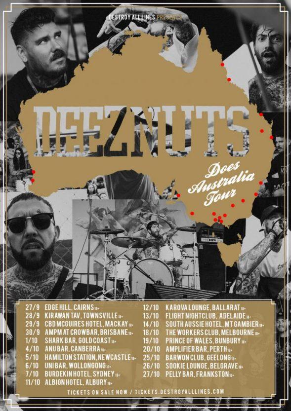Deez Nuts Tour 18