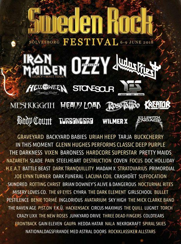 Sweden Rock Poster
