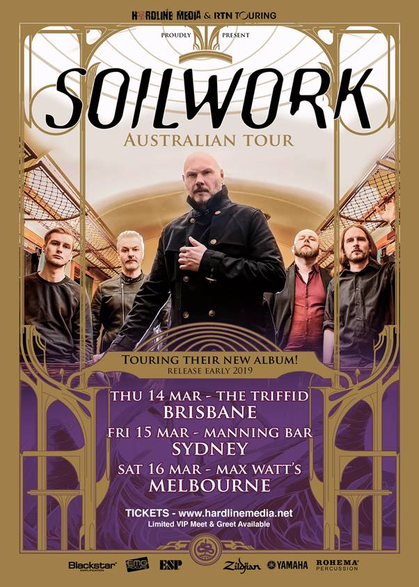 Soilwork Tour 18