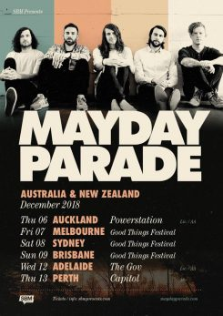 Mayday18tour