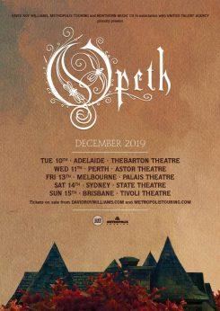 Opeth Tour