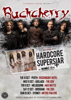 WEB Poster Buckcherry HCSS