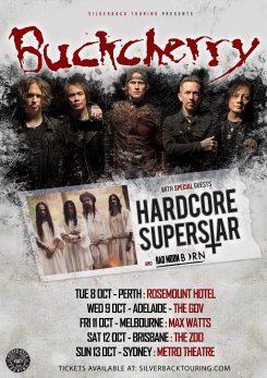 WEB Poster Buckcherry HCSS