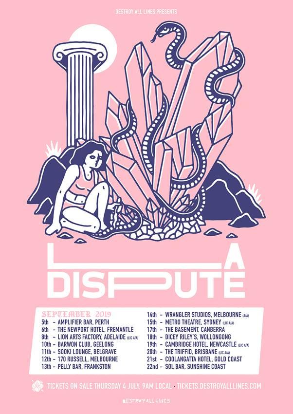 La Dispute Tour