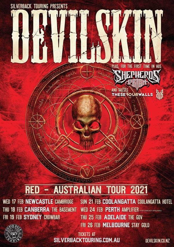 Devilskin Tour
