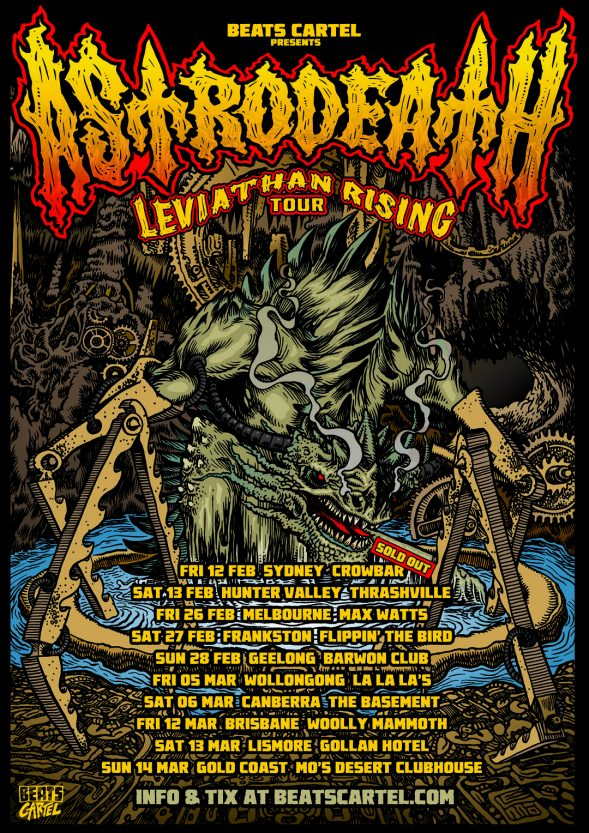 Astrodeath TOUR UPDATED