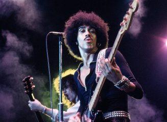 Photo Of Phil LYNOTT And Brian ROBERTSON And THIN LIZZY